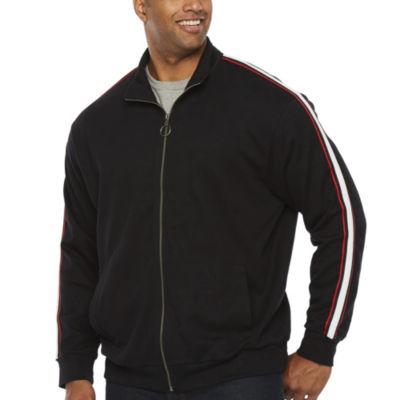 The Foundry Big & Tall Supply Co. Lightweight Track Jacket Big and Tall