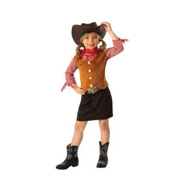 Girls Gun Slinger Cowgirl Costume