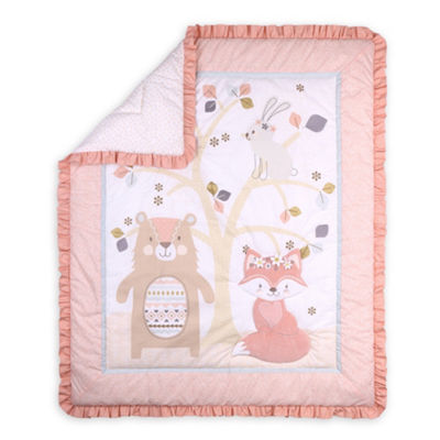Little Haven Woodland Friends 3-pc. Crib Bedding Set