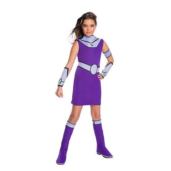 Teen Titan Go Movie Girls Starfire Deluxe Costume
