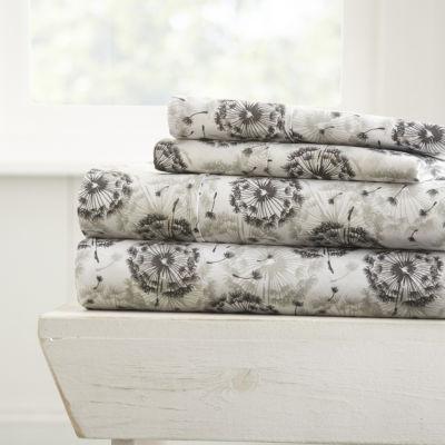 Casual Comfort™ Premium Ultra Soft Make a Wish Pattern Sheet Set