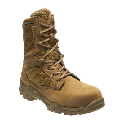 Bates Mens Gx8 Comp Toe Waterproof Slip Resistant Work Boots Zip