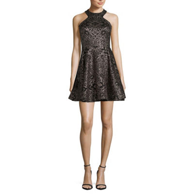 B. Smart Sleeveless Party Dress-Juniors