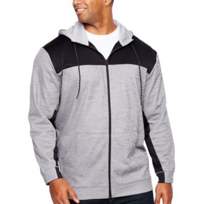 The Foundry Big & Tall Supply Co. Mens Long Sleeve Hooded Hoodie-Big and Tall