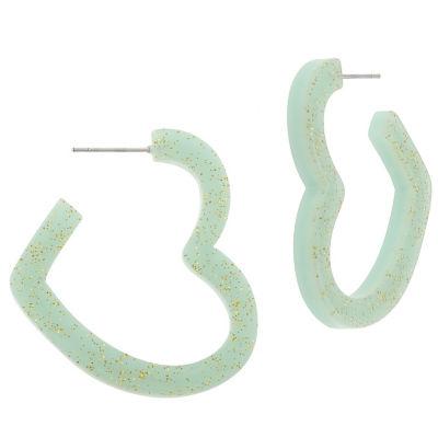Decree 1 1/2 Inch Hoop Earrings