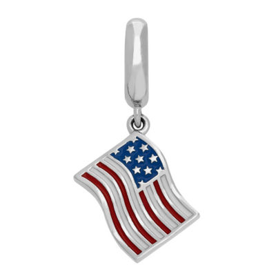 Ps Personal Style Sterling Silver Rectangular Charm