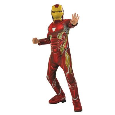 Marvel Avengers Infinity War Iron Man Deluxe BoysCostume