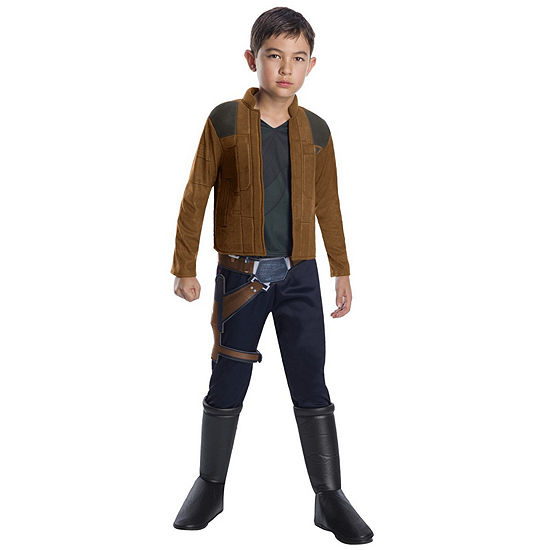 Solo: A Star Wars Story-Han Solo Deluxe Boys Costume