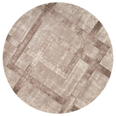 Winston Border By Libby Langdon Round Rugs