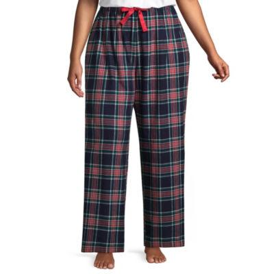 Sleep Chic 100 Flannel Pajama Pants