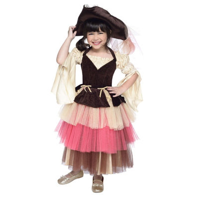 Buyseasons Audrey The Pirate - Girls 2-pc. Dress Up Costume