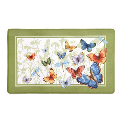 Anti Fatigue Mat - Butterflies