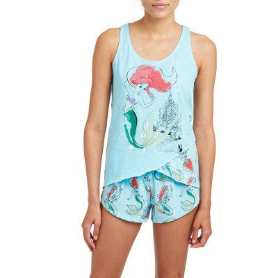 Disney Little Mermaid Ariel Short Pajama Set