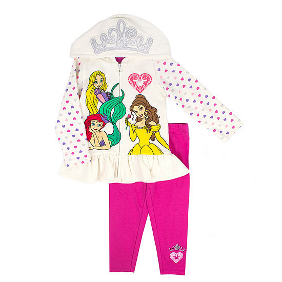 5327a1aa201e Disney Princess 2-pc. Legging Set Toddler Girls - JCPenney