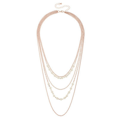 Decree Womens 6MM Strand Necklace
