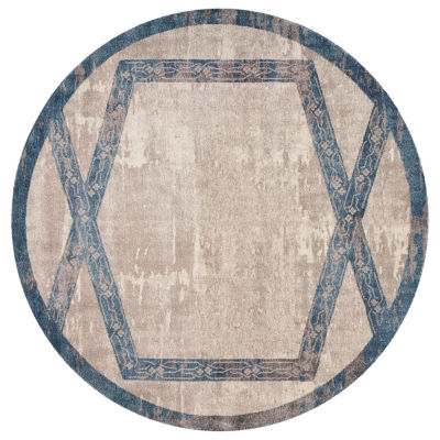 Winston Overlay By Libby Langdon Round Rugs