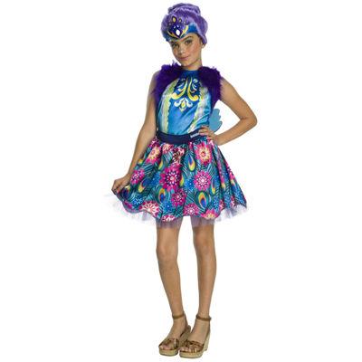 Enchantimals Patter Peacock Girls Costume