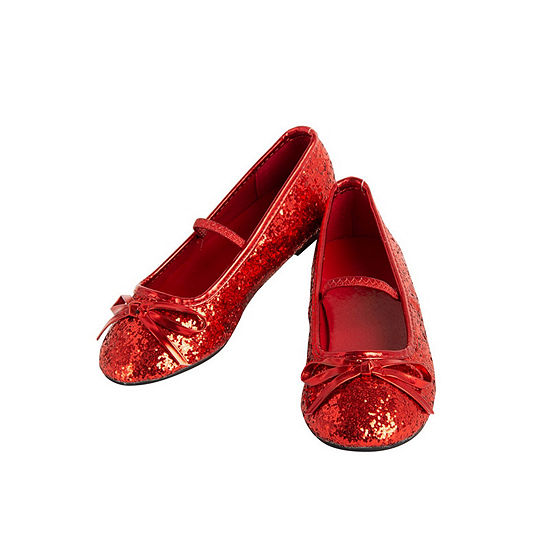 Ballet Shoe Red Girls Costume