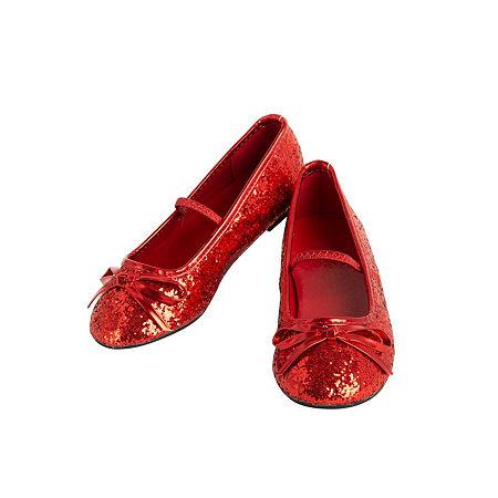 Ballet Shoe Red Girls Costume Girls Costume, 2-3 , Red