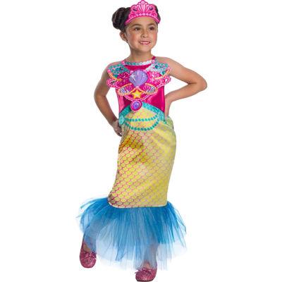 Girls Barbie Mermaid Costume