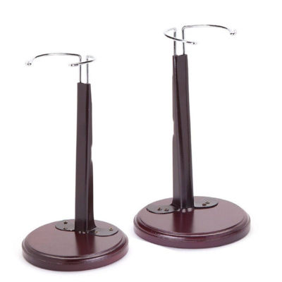 The Queen's Treasures Set of Two Doll Stands For 15 Inch-18 Inch Dolls
