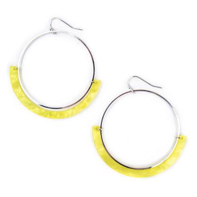 Mixit 66mm Hoop Earrings