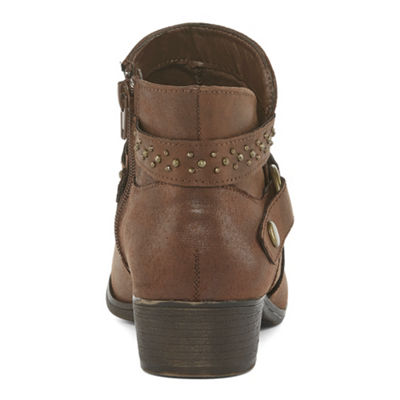 a.n.a Womens Atlas Zip Bootie