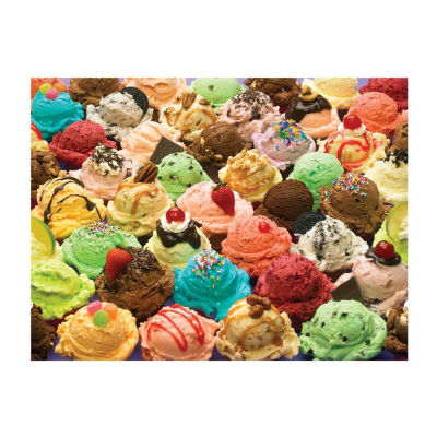 Outset Media More Ice Cream Puzzle: 400 Pcs