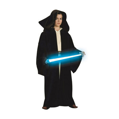 Star Wars Boys Super Dlx. Jedi Hood Robe Costume