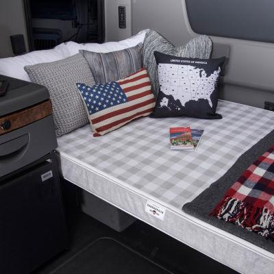 """Mobile InnerSpace Truck Sleep Series 4"""" Firm Support Foam Mattress"""
