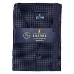 Stafford Mens Pant Pajama Set 2-pc. Short Sleeve