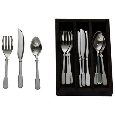 The Queen's Treasures 18 Inch Doll Service for 4 Kitchen Flatware