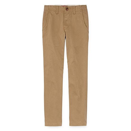 Arizona Big Boys Flat Front Pant