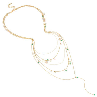Nicole By Nicole Miller Womens Y Necklace