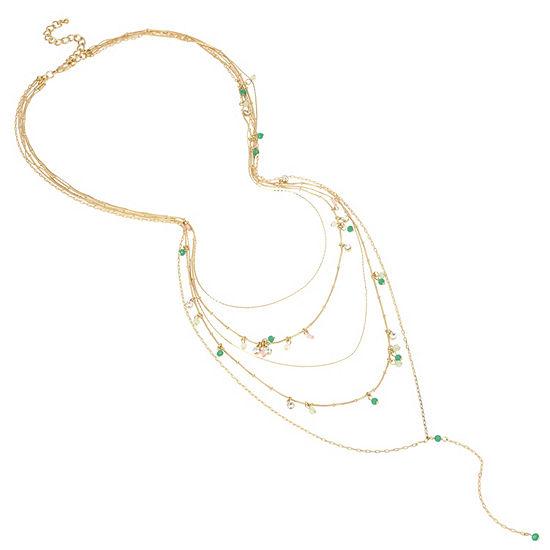 Nicole By Nicole Miller 25 Inch Y Necklace