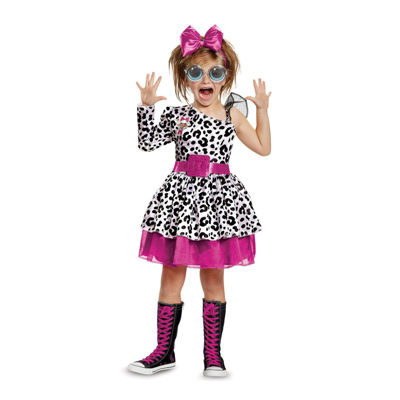 L.O.L Dolls Diva Deluxe Child Costume