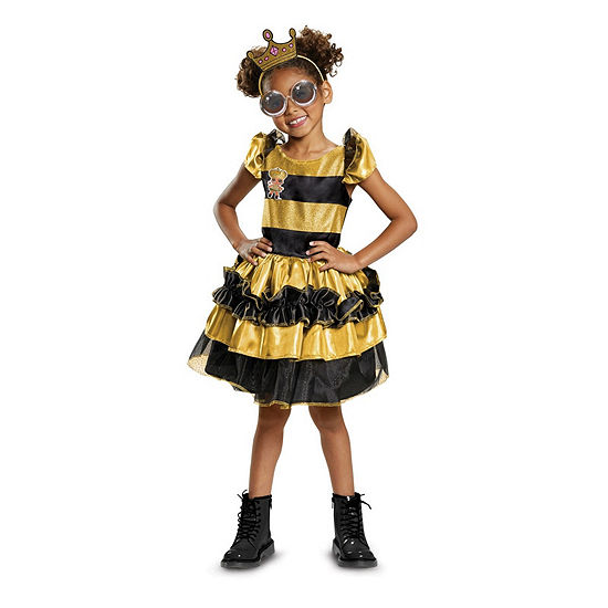 L.O.L Dolls Queen Bee Deluxe Child Costume Costume