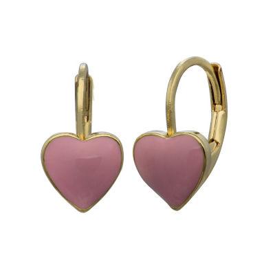 Brass Stud Earrings
