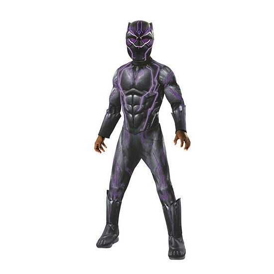 Marvel Black Panther Movie Super Deluxe Boys LightUp  Costume