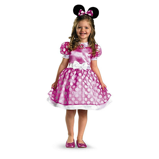 Pink Minnie Mouse Classic Toddler Costume 3T-4T