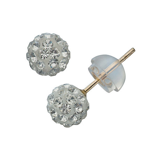 10K Gold 5mm Stud Earrings
