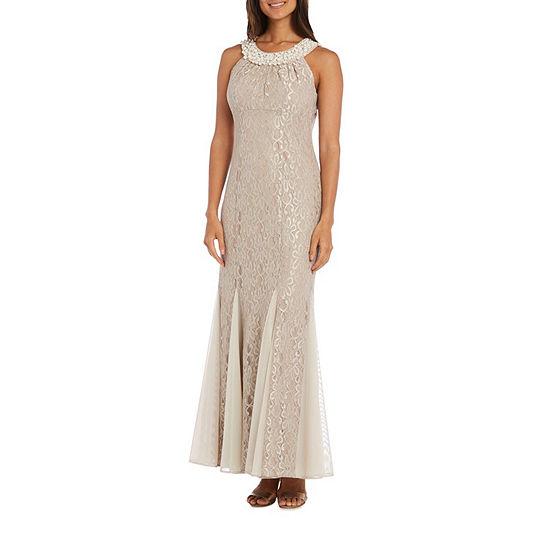 R&M Richards Lace Gown