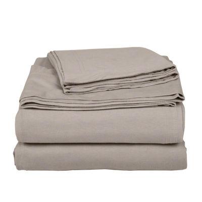Exclusive Fabrics & Furnishing Knit Craze® 100% Premium Combed Cotton Jersey Sheet Set With Aloe Vera Treatment