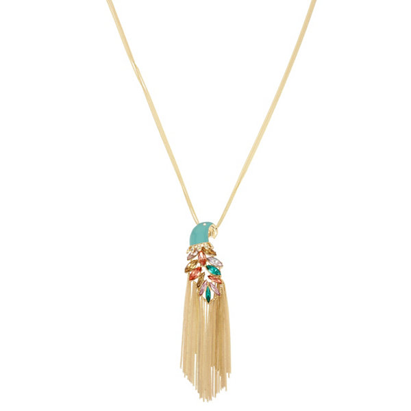 Nicole by nicole miller womens pendant necklace jcpenney nicole by nicole miller womens pendant necklace aloadofball Images
