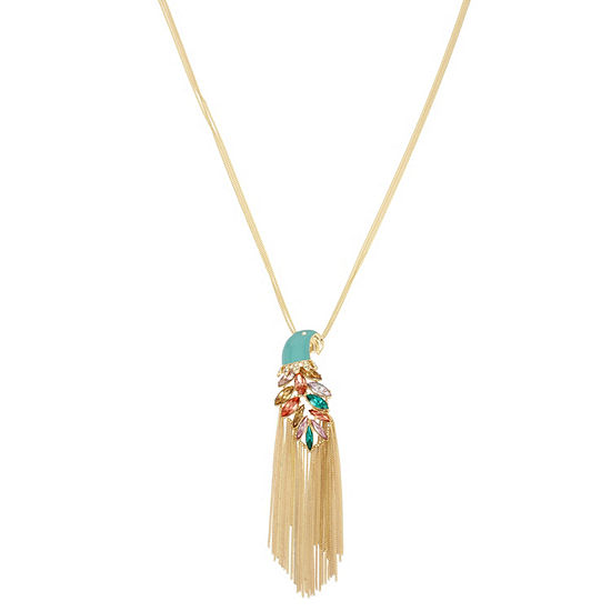 Nicole By Nicole Miller 31 Inch Curb Pendant Necklace