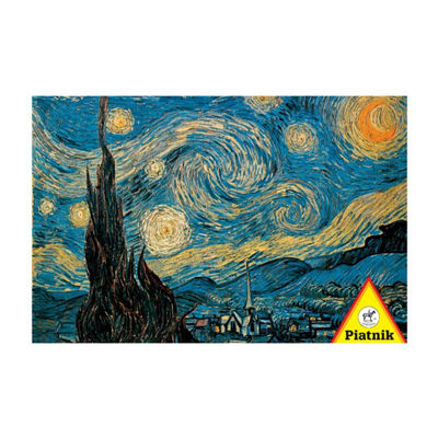 Piatnik Van Gogh Starry Night Jigsaw Puzzle: 1000Pcs