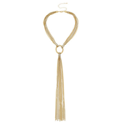 Nicole By Nicole Miller Curb 15 Inch Chain Necklace