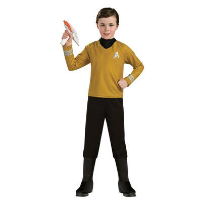 Star Trek Boys Deluxe Captain Kirk Costume