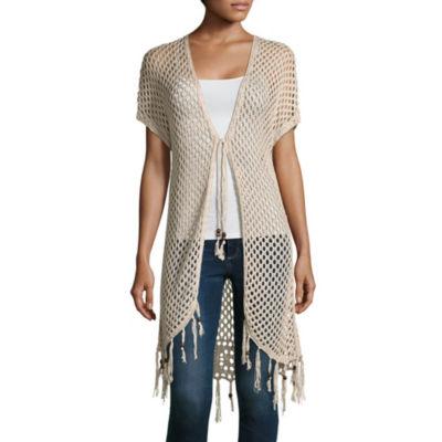 Artesia Crochet Fringe Cardigan