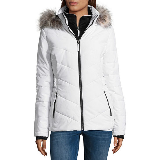 e9edcfcc2e8 Free Country Heavyweight Hooded Water Resistant Puffer Jacket JCPenney